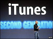 iTunes SecondGeneration